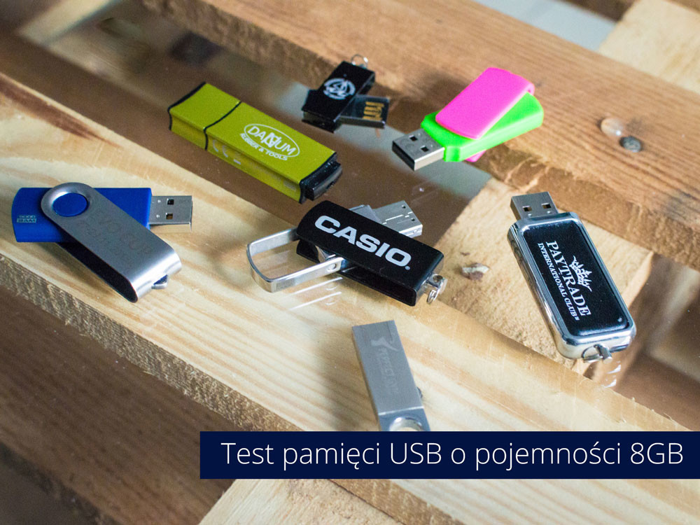 Test pendrive 8GB