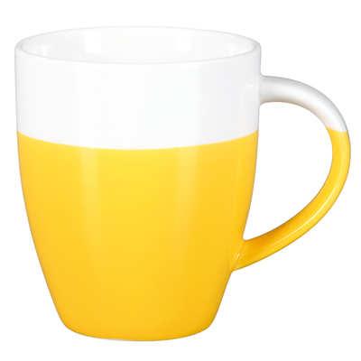 Kubek Mezzo mini (078KMZUB) - Żółty/Biały
