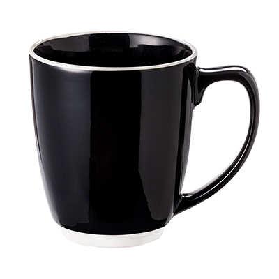 Kubek Colorado (065KMCZB) - Czarny/Biały