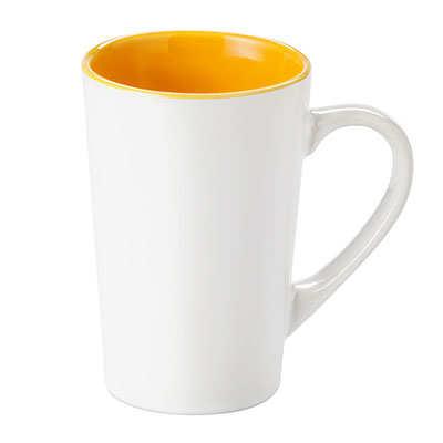 Kubek FRESH (072KMZUB) - Żółty/Biały