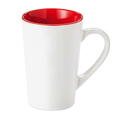 Kubek FRESH (072KMCB) - Czerwony/Biały