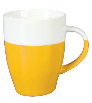Kubek MEZZO (001KMZUKB) - Żółty/Królewska biel