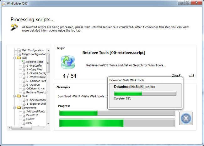 Proces tworzenia Windows live