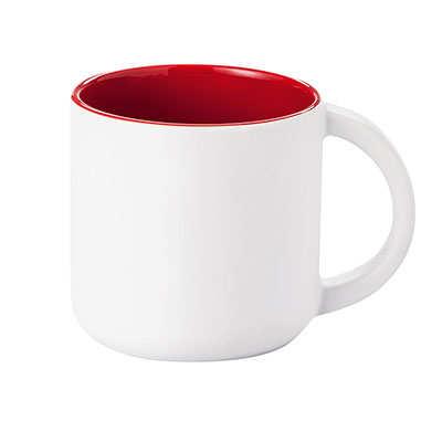 Kubek MODERN (079KMCB) - Czerwony/Biały