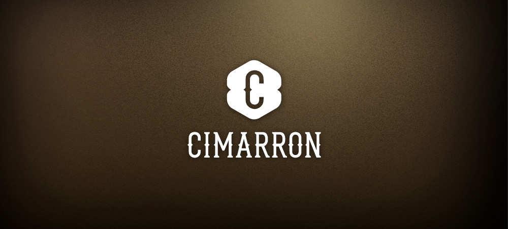 Logo dla restauracji CIMARRON