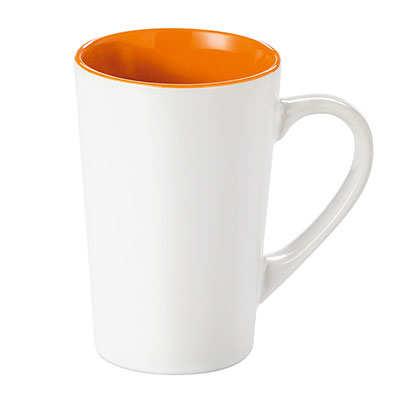 Kubek FRESH (072KMPB) - Pomarańczowy/Biały