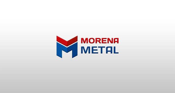 Projektowanie logo Warszawa dla MORENA METAL