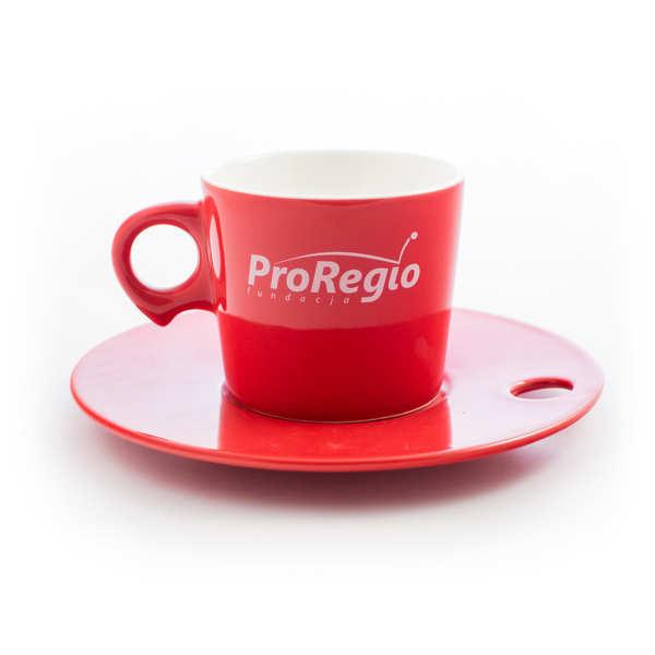 Filiżanki reklamowe Poznań dla ProRegio