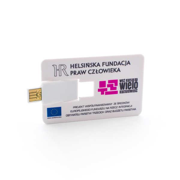Pendrive Warszawa dla Helsińska Fundacja Praw Człowieka