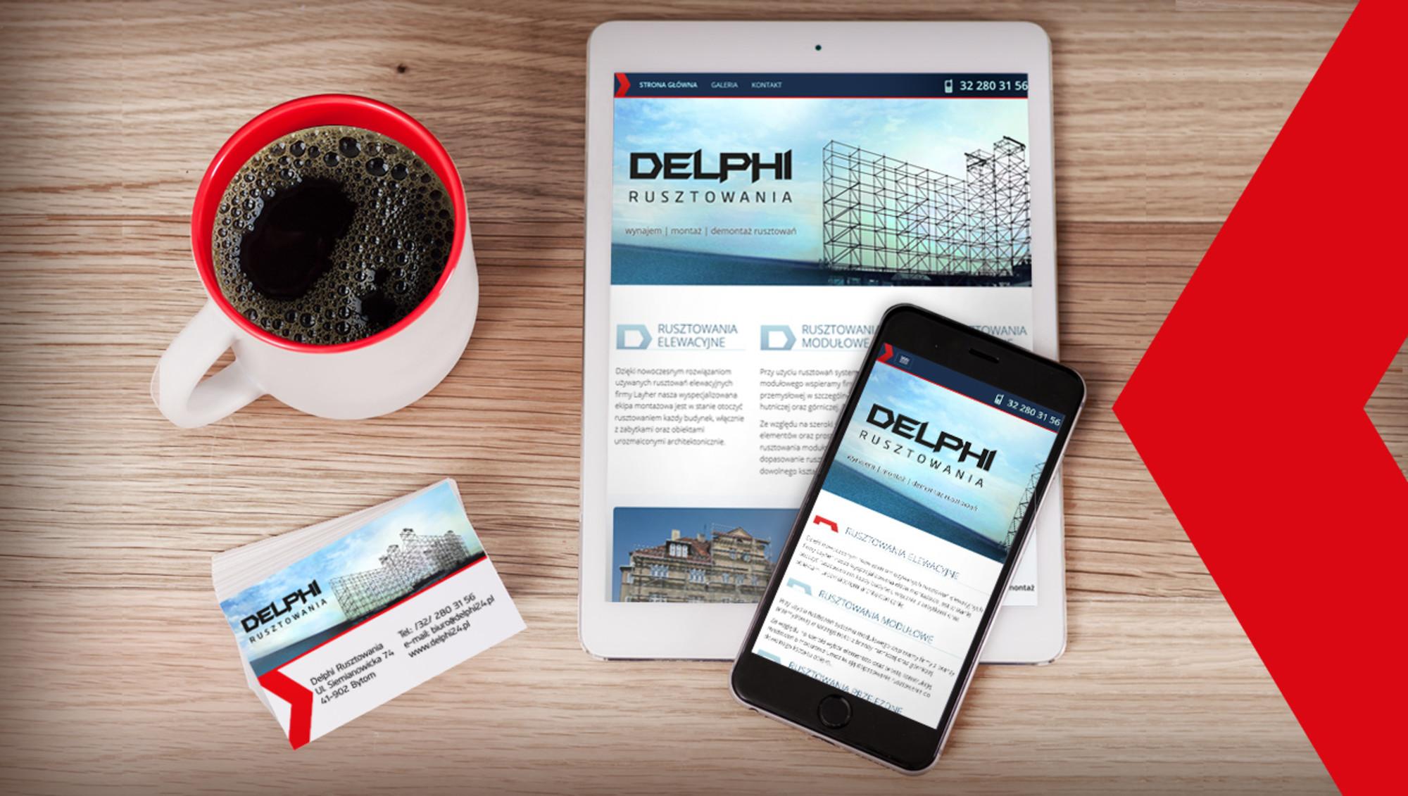 Projektowanie stron Bytom dla Delphi24