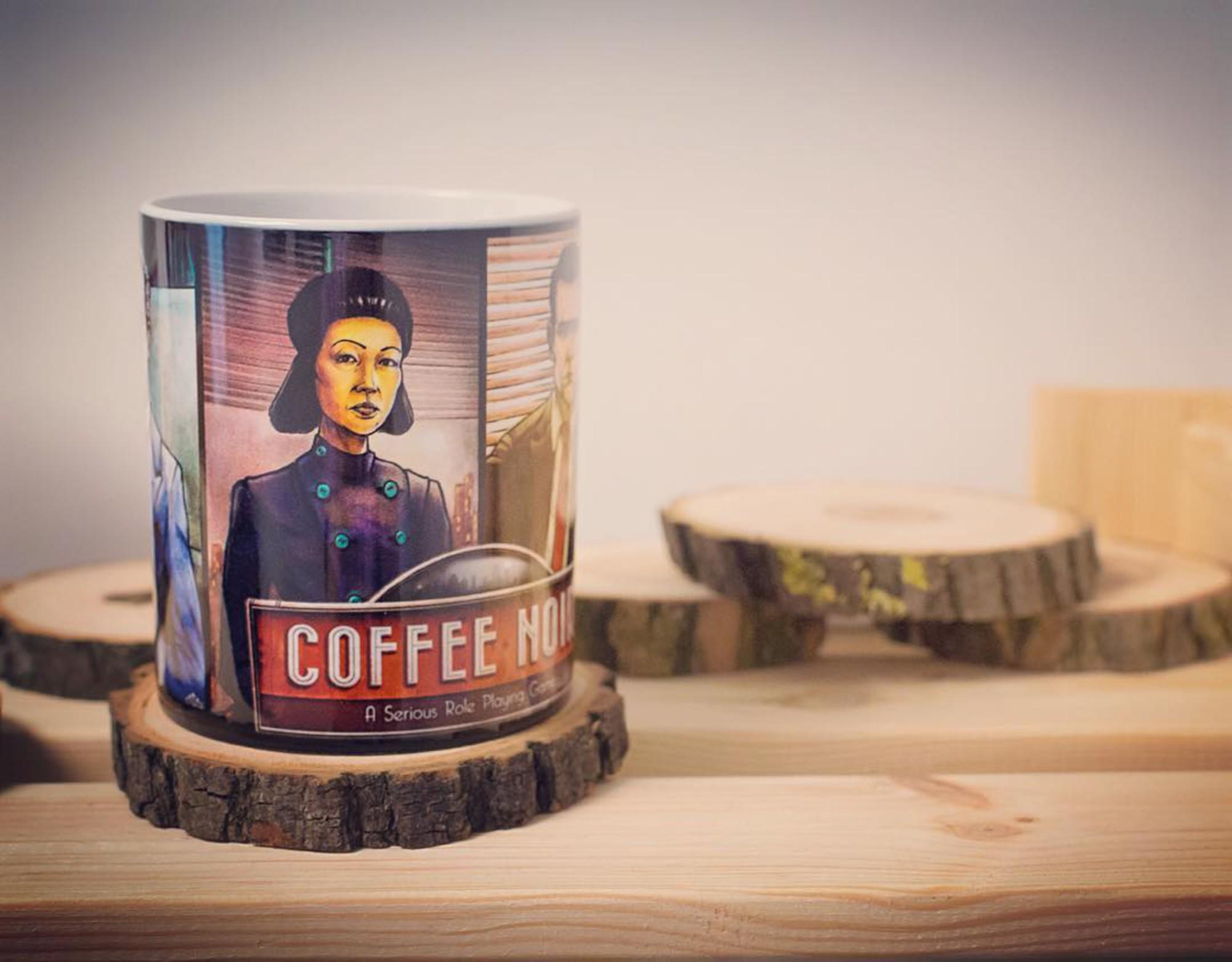 Kubki reklamowe Poznań dla Coffe Noir