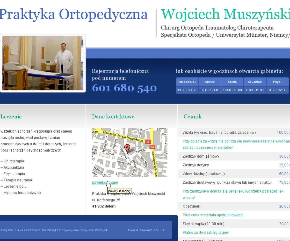 Bytom dla Ortopeda Muszyński