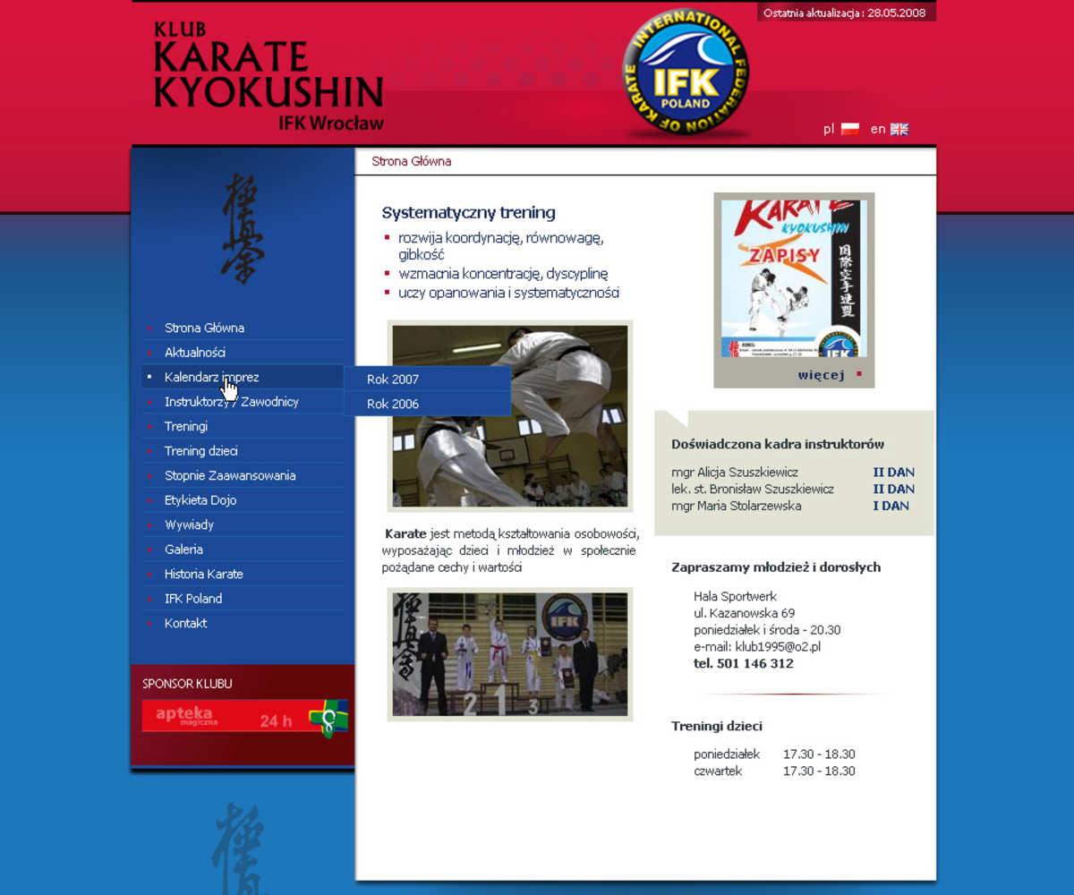 Wrocław dla Strong Karate