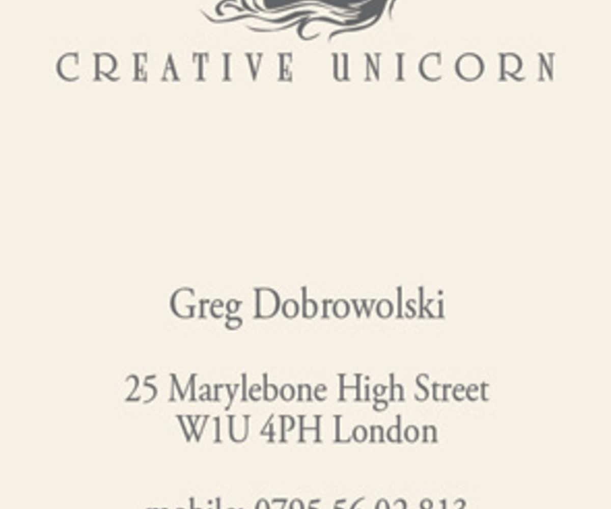 Londyn dla CreativeUnicorn