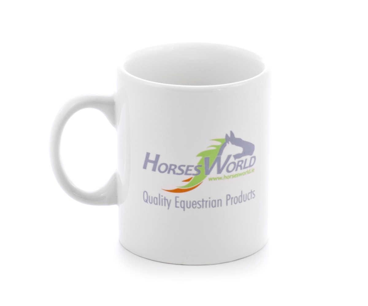 Kubki reklamowe dla Horses World (Corofin Ennis, Co. Clare / Ireland)
