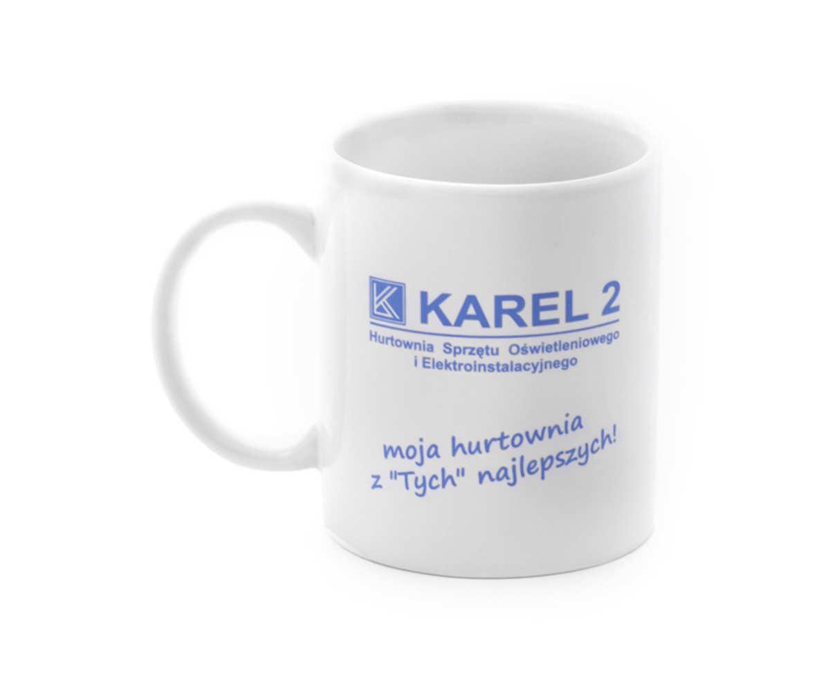 Kubki reklamowe dla KAREL 2 Sp. z o.o. (Bielsko-Biała)