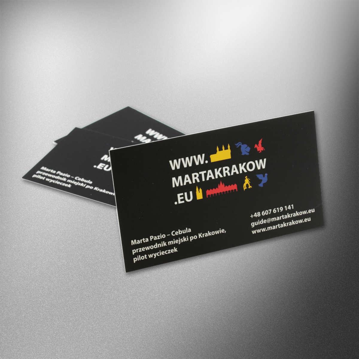 Wizytówki Kraków dla Marta Kraków