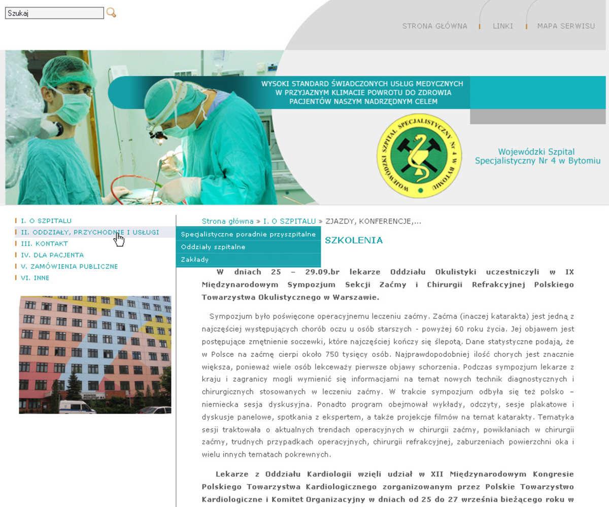 Bytom dla www.szpital4.bytom.pl