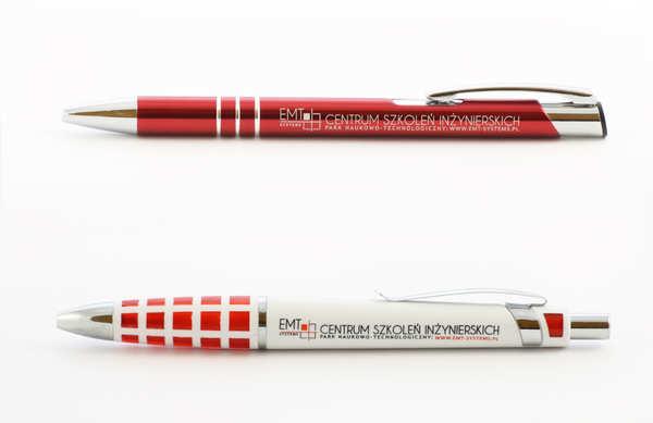 Długopisy reklamowe Gliwice dla Centrum Szkoleń Inżynierskich EMT-SYSTEMS