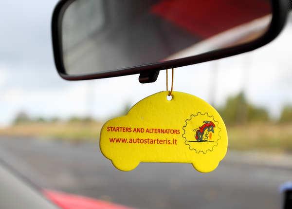 Samochodowe odświeżacze Vilnius / Litwa dla Autostarteris