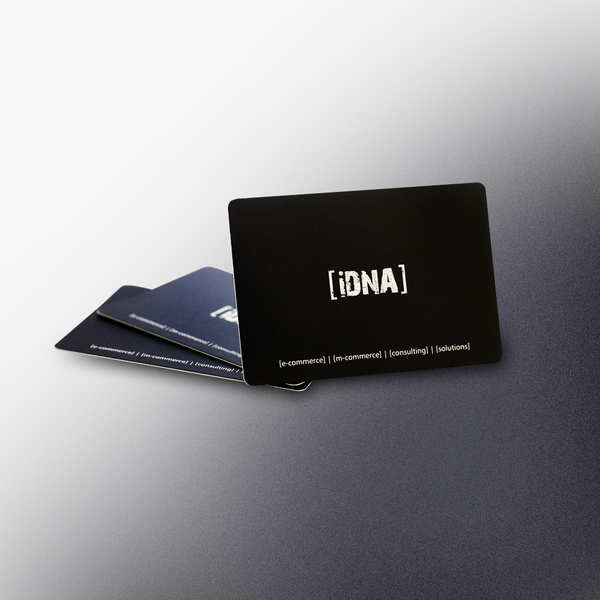 Wizytówki  dla iDNA