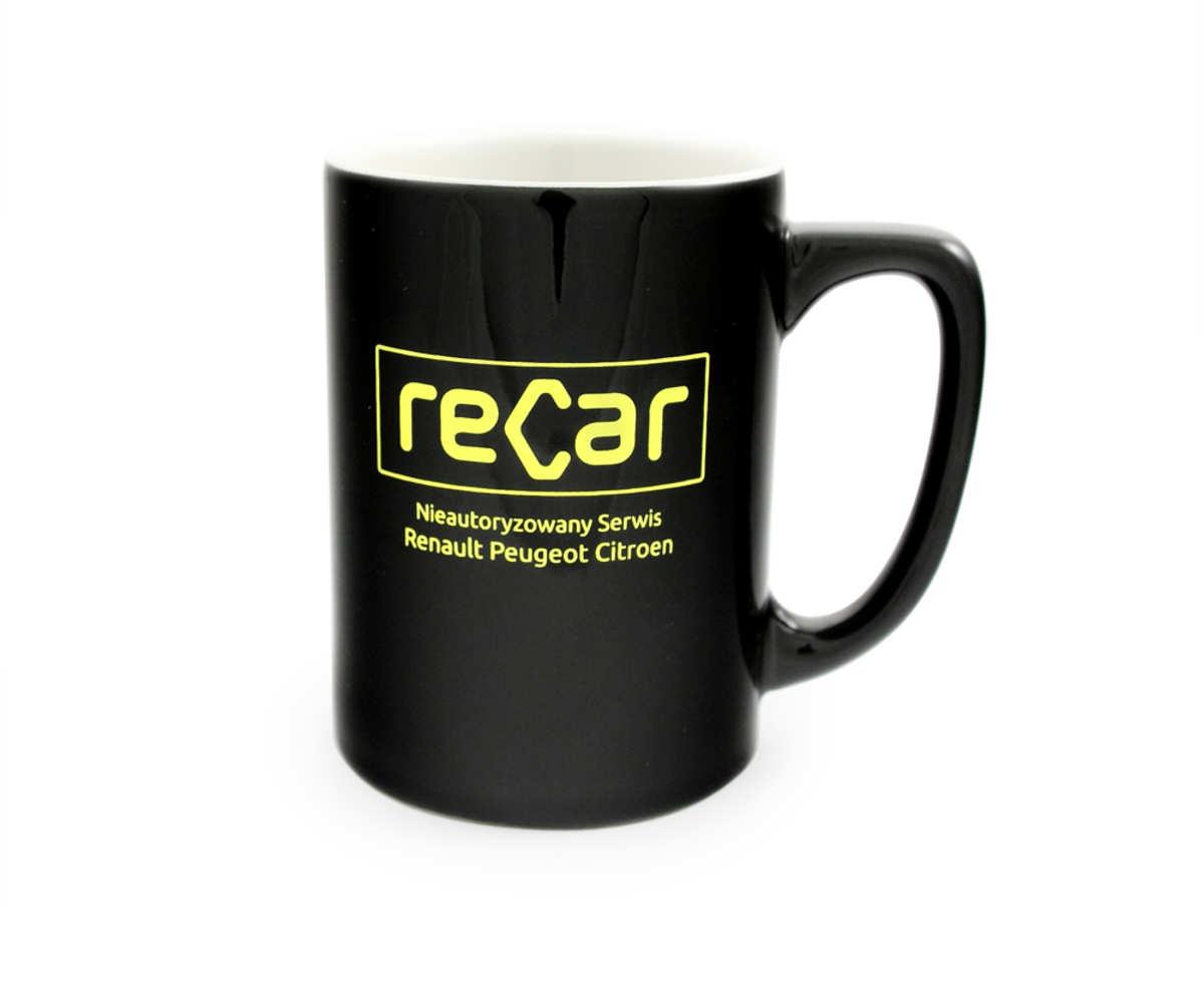 Kubki reklamowe dla reCar (Leszno)