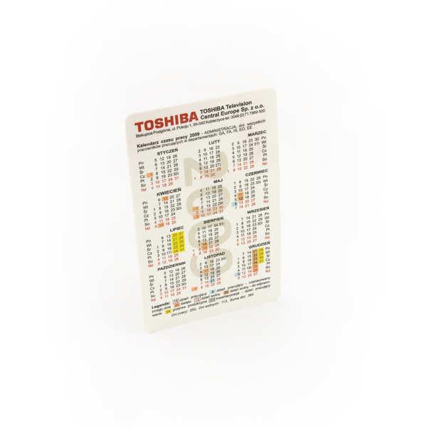 Kalendarze Kobierzyce dla Kalendarzyk TOSHIBA